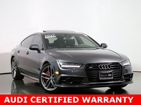Pre-Owned 2017 Audi S7 4.0T Premium Plus